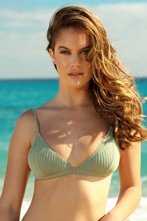 Khaki triangle bikinifelső