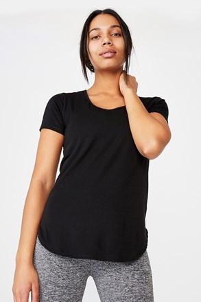 Gym fekete sport póló