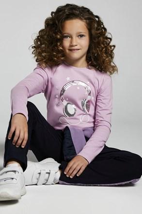 Dievčenské tričko s dlhým rukávom Mayoral Music
