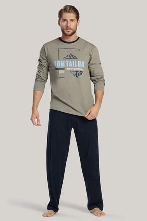 Khaki pyžamo Tom Tailor Mountain