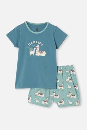 Láma lányka pizsama