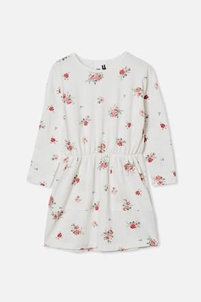 Kvetinové dievčenské šaty Sigrid