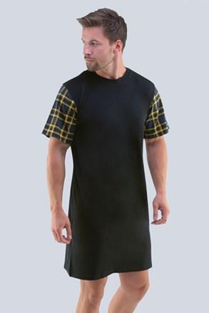 Čierna nočná košeľa Randal