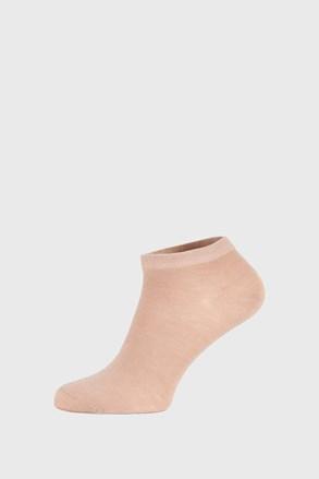 Ponožky Bamboo nízke béžové