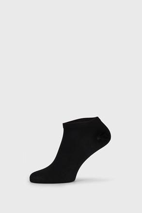 Čierne bambusové ponožky nízke