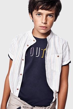 Chlapčenské tričko Youth Mayoral tmavomodré