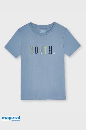 Chlapčenské tričko Mayoral Youth modré