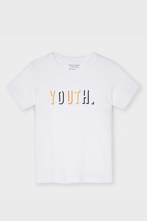 Chlapčenské tričko Mayoral Youth biele