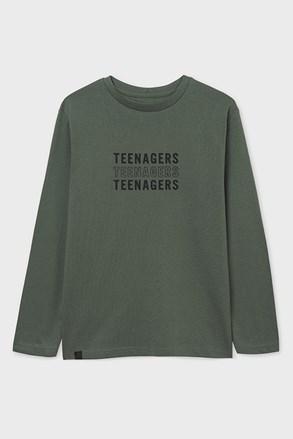 Chlapčenské tričko s dlhým rukávom Mayoral Teenagers