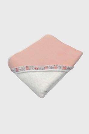 Blue Kids gyerek fürdőlepedő, rózsaszín