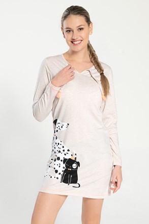 Dámska nočná košeľa Dalmatine