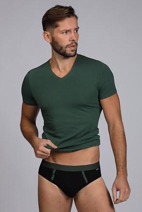 Pánsky komplet trička a slíp Raw man zelený