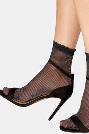 Dámske pančuchové ponožky Sparkle Rib