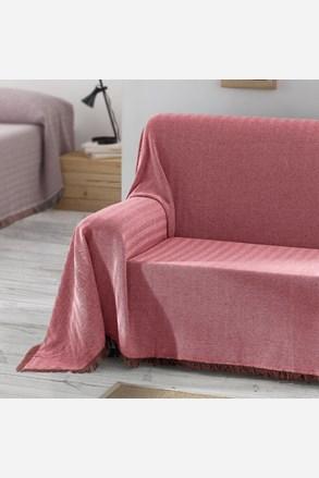 Prikrývka na posteľ Aitana červená