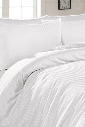 Tina atlasz ágyneműhuzat, fehér