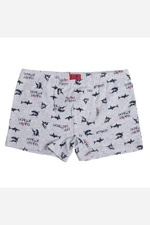 Chlapčenské boxerky LAMA Shark