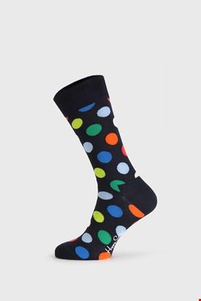 Happy Socks Big Dot fekete zokni