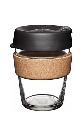 Cestovný hrnček Keepcup čierny s korkom 340 ml