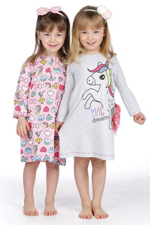 Dievčenská nočná košeľa Lina Pink Pony