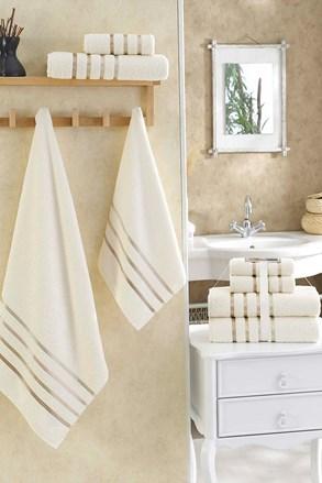 Súprava uterákov Bale krémová