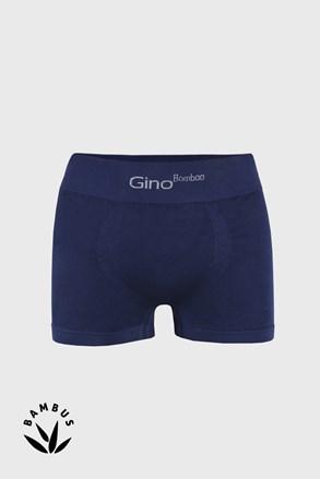 Modré bambusové boxerky s krátkou nohavičkou