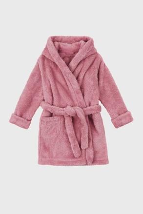 Simple lányka köntös, rózsaszínű