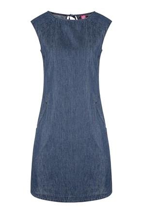 Dámske modré športové šaty LOAP Nency