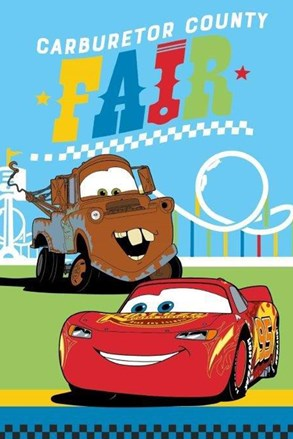 Cars gyermek törölköző