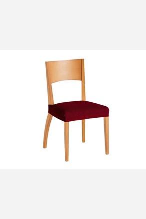 Súprava 2 poťahov na stoličku červená