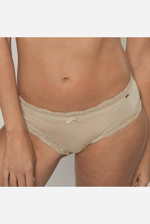Nohavičky Gina klasické béžové