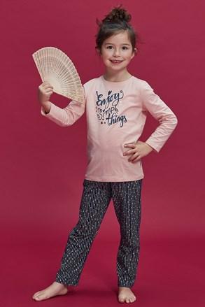 Dievčenské pyžamo Enjoy things