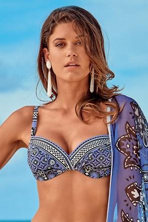Elisea női bikinifelső, kék-lila