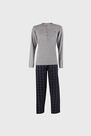 Szürkés-kék pizsama Calebron