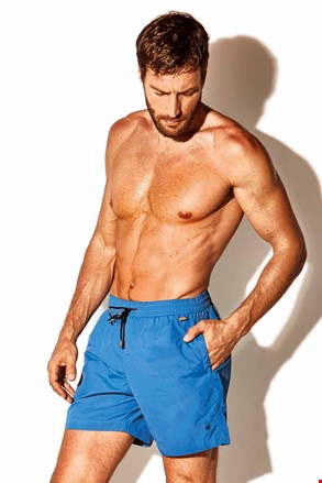 Pánske plavkové šortky Caicco plus size modré