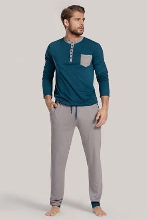 Modro-zelené pyžamo Drew II