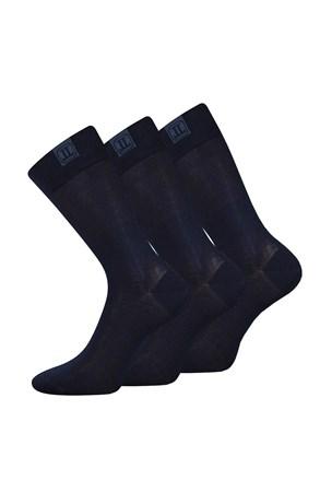 3 pack spoločenských ponožiek Destyle