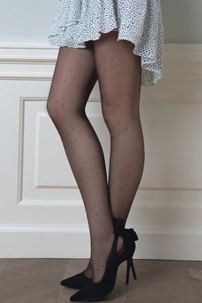 Vzorované pančuchové nohavice Dotsy09 20 DEN