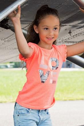 Dievčenské športové tričko Love