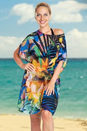 Dámske plážové šaty Jungle Flower