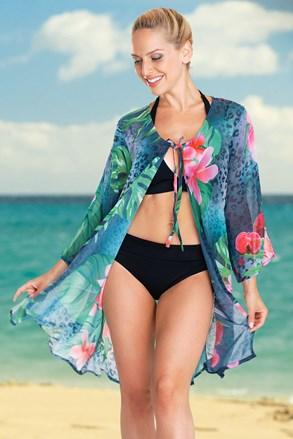 Dámske plážové šaty Tropical Flower