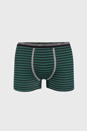 Chlapčenské boxerky modro-zelené