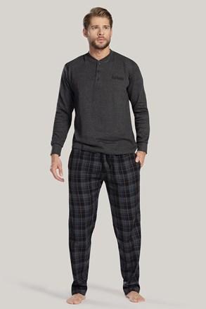 Šedé pyžamo Augusto