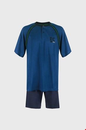 Kék pizsama Casey PLUS SIZE