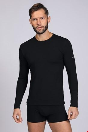 Hosszú ujjú póló fekete