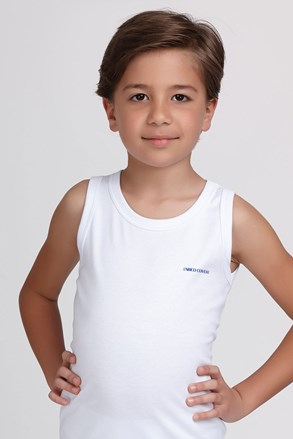 Chlapčenské tielko basic biele