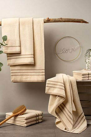 Luxusná sada uterákov Eco Nature ecru