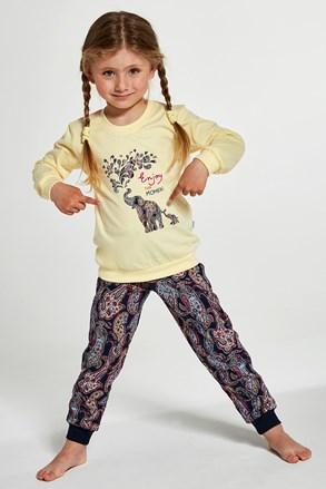 Dievčenské pyžamo Elephants