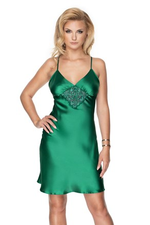 Saténová košieľka Emerald