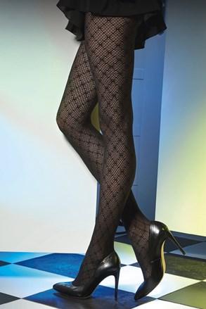 Vzorované pančuchové nohavice Est Belle 01 50 DEN