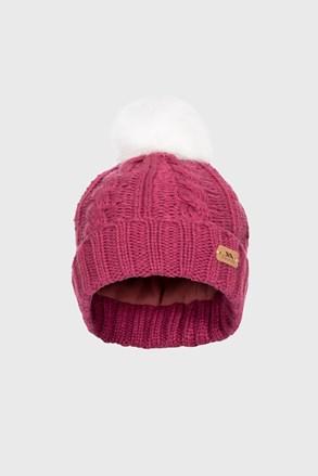 Detská čiapka Ashleigh fialová